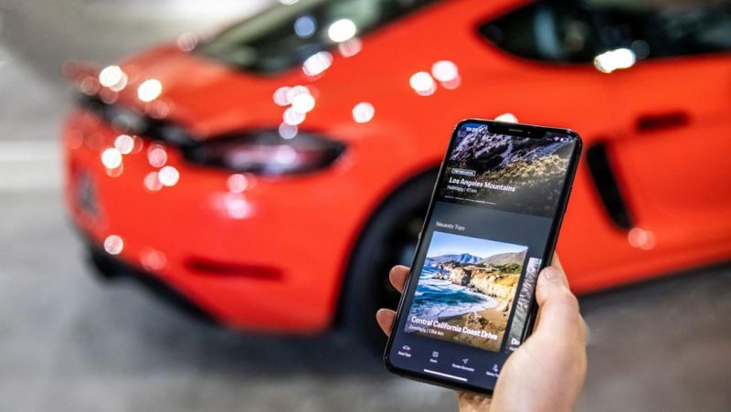 New App From Porsche Helps Drivers Discover the Best Roads
