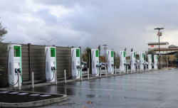Electrify America Opens the First 350 kW EV Charging Location in California
