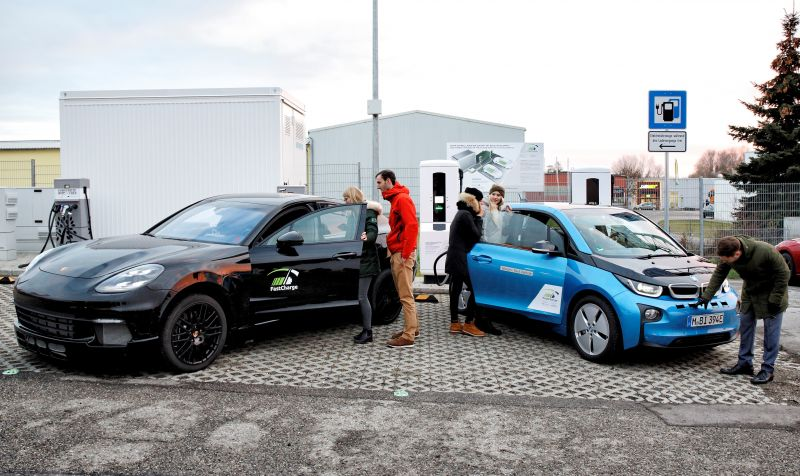 BMW & Porsche Unveil a 450 kW Ultra-Fast EV Charging Prototype