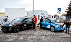 BMW & Porsche Unveil a 450 kW Ultra-Fast EV Charging Prototype