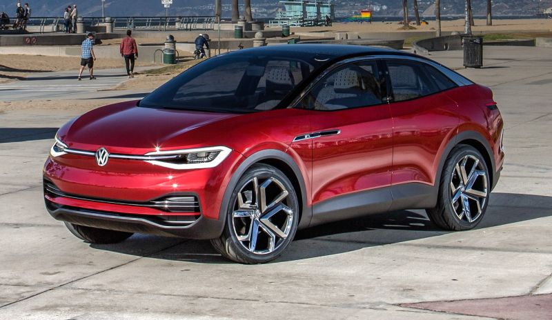 Volkswagen ID Lounge Luxury SUV to Rival the Tesla Model X