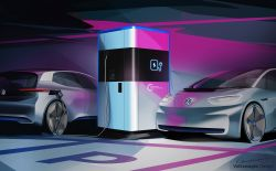 Volkswagen Reveals a Portable EV Charging Station