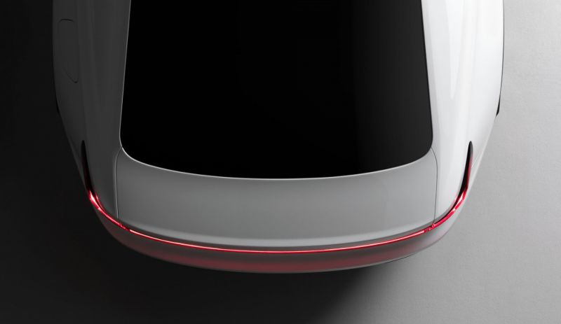 Polestar Unveils the First Teaser Photo of its New EV, a Serious Competitor to Tesla's Model 3