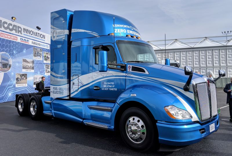 Toyota & Kenworth Collaborate To Develop Zero-Emission Fuel Cell Trucks
