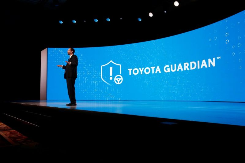 Toyota Says its Guardian Autonomous Driving Technology Will Amplify Human Control, Not Remove it