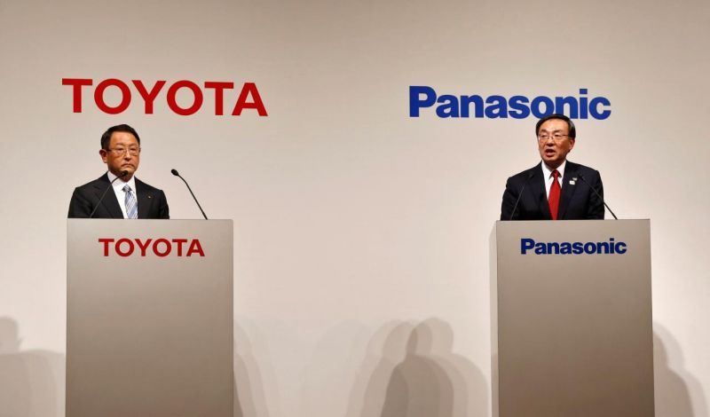 Toyota & Panasonic Establish Joint Venture Company to Build EV Batteries