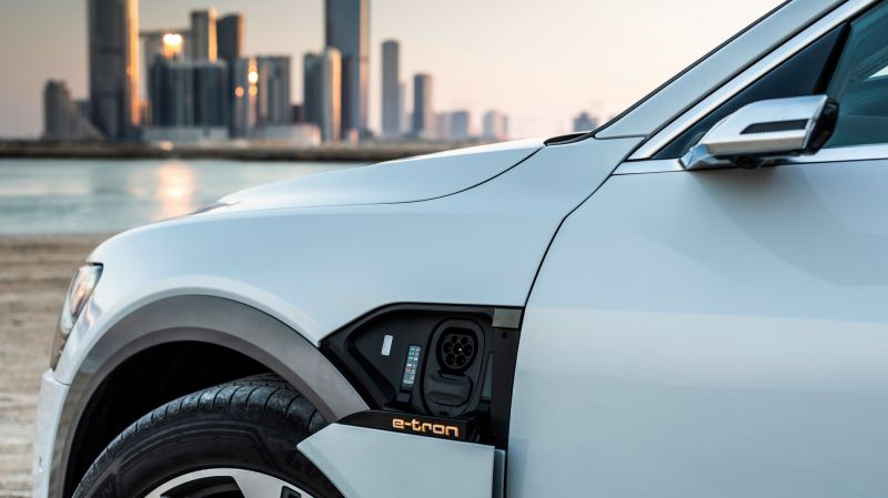 Audi e-tron is the First EV Using the EEBUS Standard for Charging