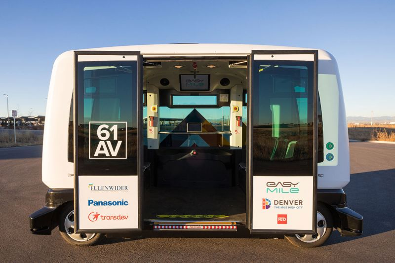 Denver's RTD Deploys First Autonomous Shuttle in Local Pilot Program