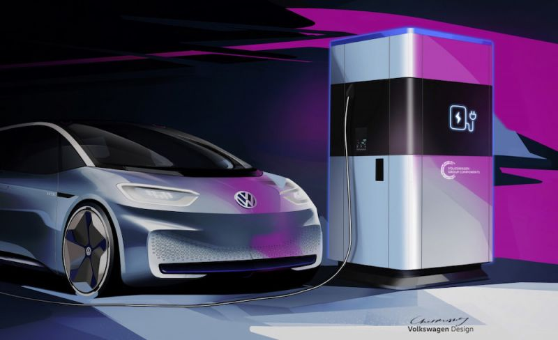 Volkswagen Converting Factory to Manufacture EV Charging Stations