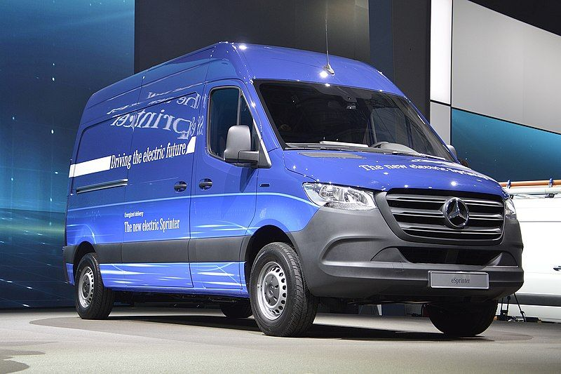 Tesla, Mercedes-Benz Talk of Teaming Up For Electric Van Project