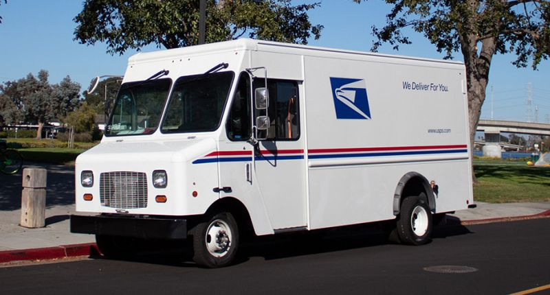 USPS Tries Out the First of 7 All-New Electric Delivery Vans