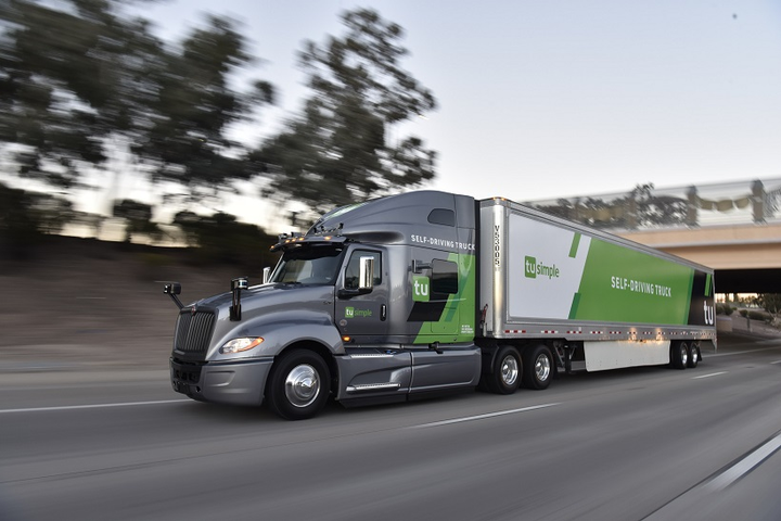 Autonomous Trucking Startup TuSimple Raises $95 Million in Latest Funding Round