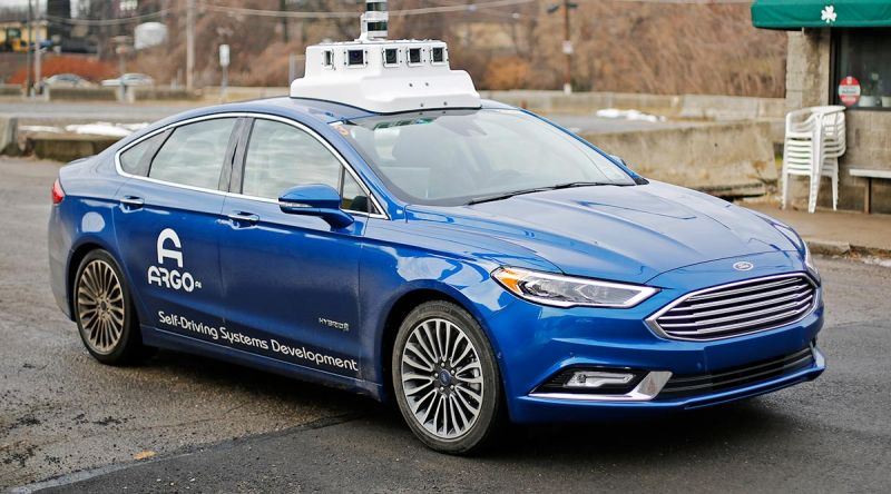 Ford & Volkswagen Collaboration with Argo AI Could Value the Self-Driving Startup at $4 Billion