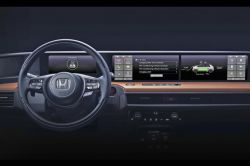 Honda Reveals the First look at the Interior of its Urban EV Prototype