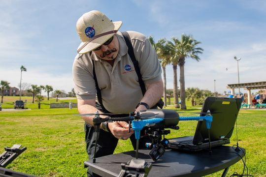 NASA to Test Drone Traffic Management in Nevada and Texas