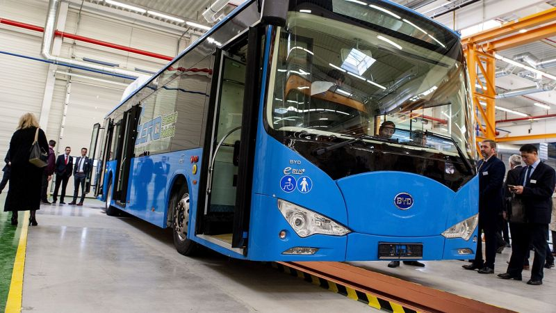 China-based EV Maker BYD Reports Rapid Growth Across Multiple Segments
