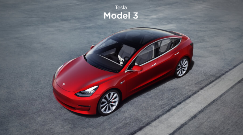 Tesla Begins Taking Orders for the $35,000 Base Model 3