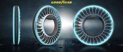 Goodyear Showcases Concept Tire for Flying Cars; 1950's Autonomous Vehicle