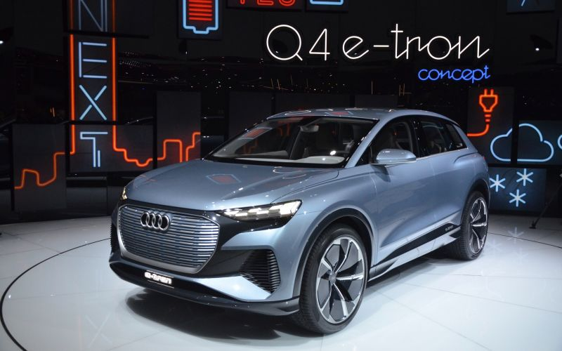 Audi Reveals its Q4 e-tron Concept at the Geneva Motor Show