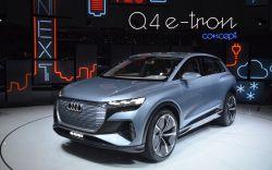 Audi Reveals its Q4 e-tron Concept at the Geneva Motor Show