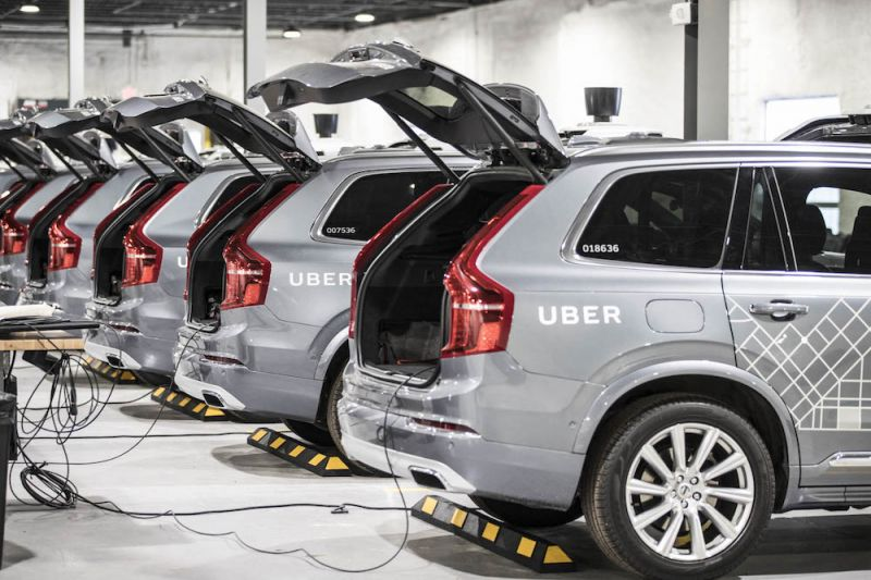 Report Claims Uber's Autonomous Car Program Was Going Through $20 Million per Month