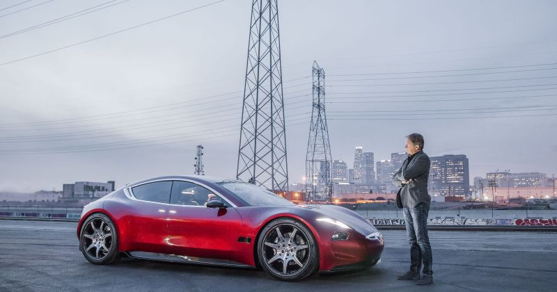 Fisker to Announce $40,000 Electric Vehicle