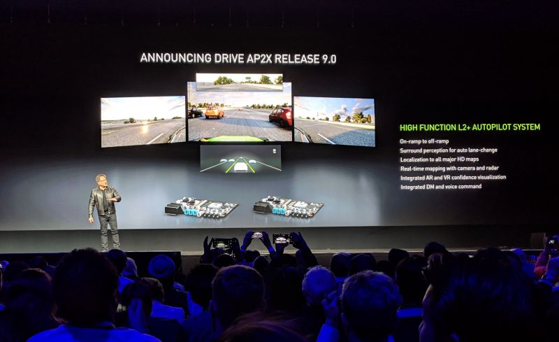 NVIDIA Announces 'DRIVE AP2X' 9.0, its Latest Level-2 Autonomous Driving Platform