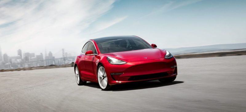 The Tesla Model 3 Standard-Plus is Efficient as the Hyundai Ioniq Electric