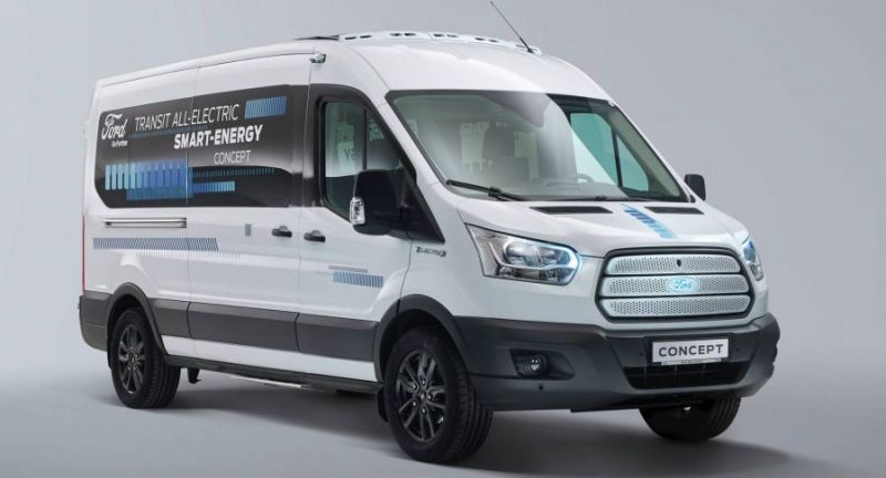 Here's Everything We Know About the 2021 Ford Transit Electric Van