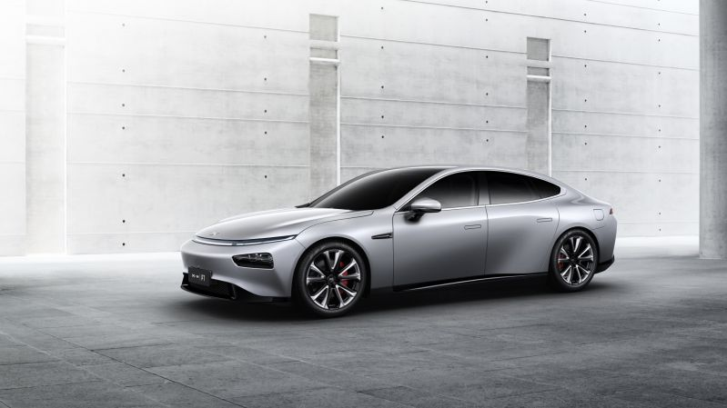 EV Startup XPENG Motors Debuts its New P7 Electric Coupe at Auto Shanghai