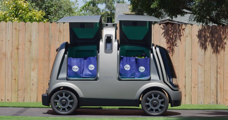 Kroger and Nuro Launch Driverless Grocery Deliveries in Houston