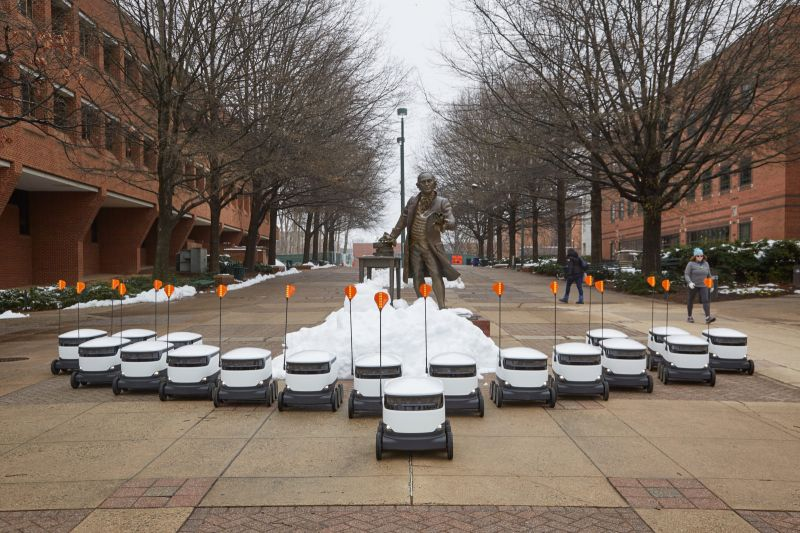 Washington State Regulators Move Forward to Allow Delivery Bots on Sidewalks