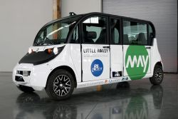 May Mobility to Begin Testing Autonomous Shuttles in Rhode Island