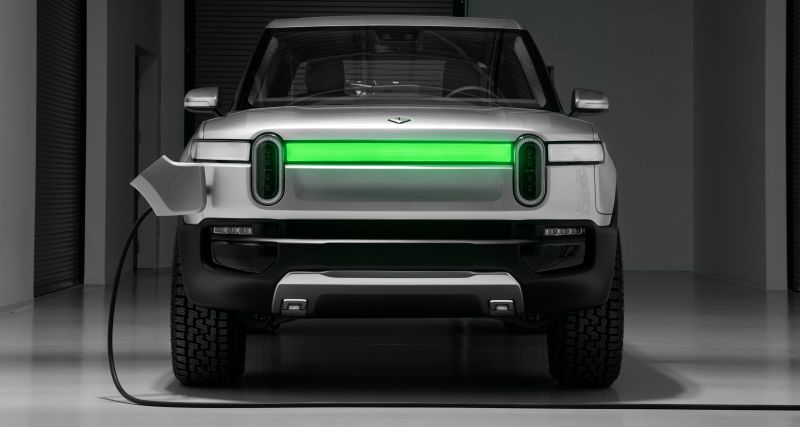 All You Need to Know About Rivian's Design Center and Giant EV Battery Pack