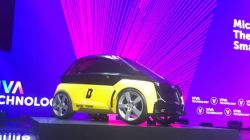 Smart Unveils Roofless EV Concept at Paris Motor Show