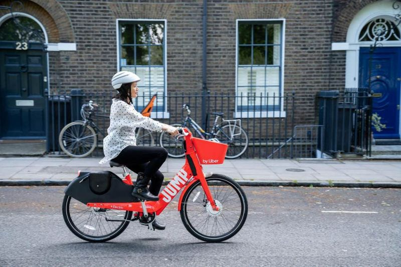 Uber Launches Electric Bike Service in London with JUMP