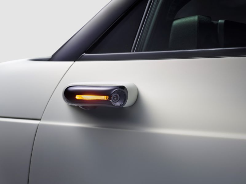 Honda Confirms Side Camera Mirror System for Upcoming EV