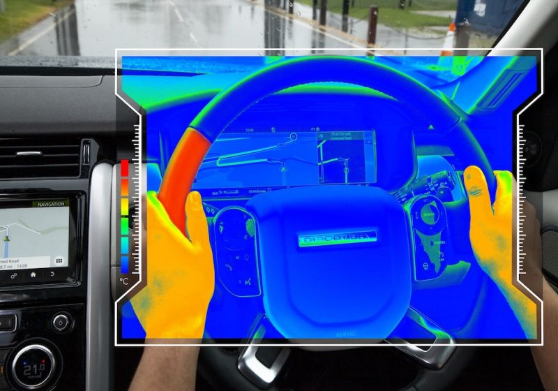 Jaguar Land Rover Researching a Sensory Steering Wheel to Keep Drivers Attentive