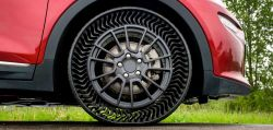Michelin & General Motors to Test 'Airless' Tires on a Fleet of Chevy Bolt EVs