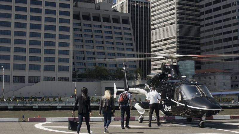Uber to Offer Helicopter Rides Between New York City & JFK Airport