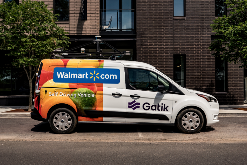 Autonomous Delivery Startup Gatik Emerges From Stealth, Announces Partnership with Walmart