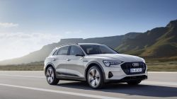 Audi Recalling Electric e-tron SUV Over Battery Fire Risk