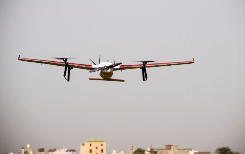 Zomato Tests Drones for Food Deliveries in India