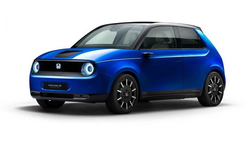 Honda E Officially Revealed With New Platform and 35.5 kWh Battery