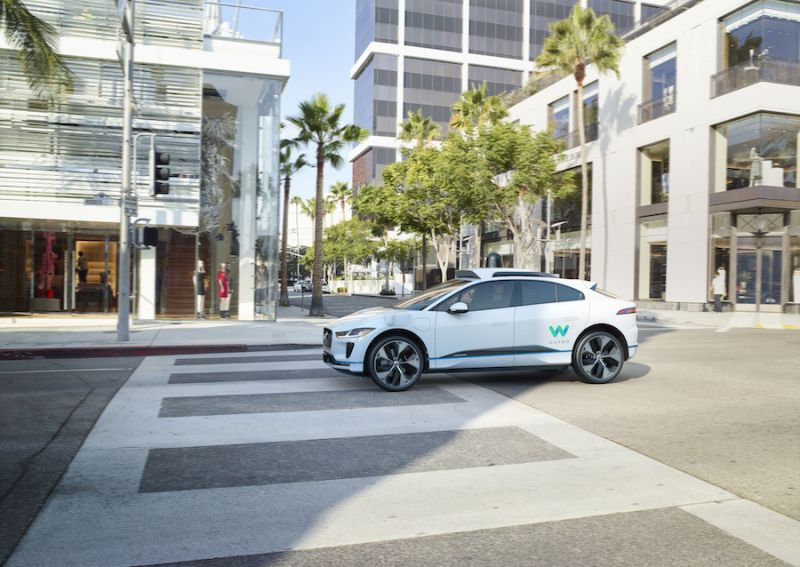 Waymo's Self-Driving Jaguar I-Pace Will Finally Hit Public Roads