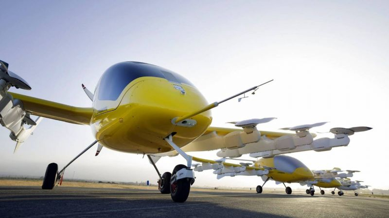 Kitty Hawk and Boeing Form Partnership to Make Flying Cars Safer
