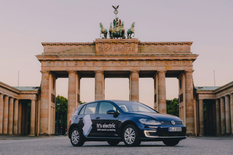 'WeShare' is the New Electric Car Sharing Service from Volkswagen