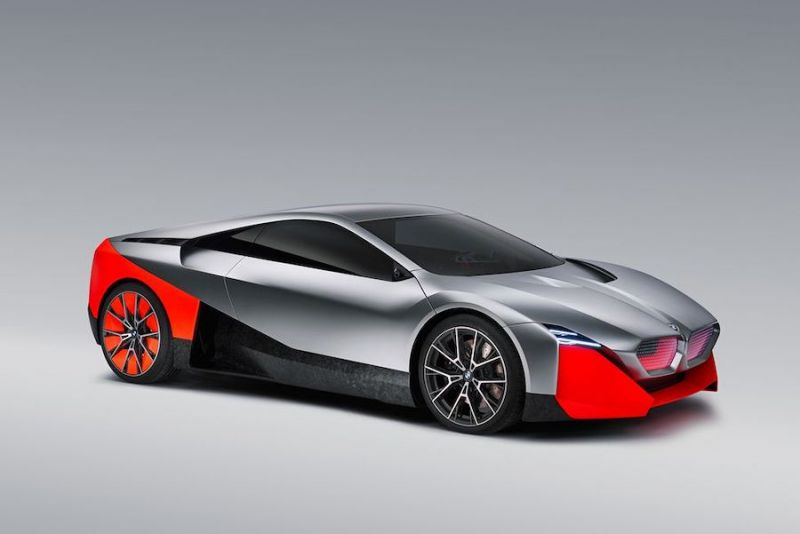 BMW Vision M Next Concept Pictures Fun in the Future