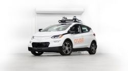 How Do Autonomous Cars Deal with Double-parked Vehicles?