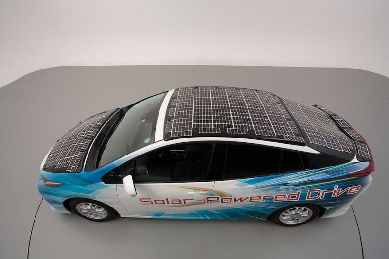 Toyota Testing New Solar Panels to Increase EV Range
